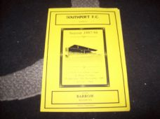 Southport Reserves v Barrow Reserves, 1997/98